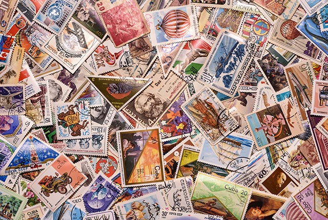 Vente aux enchères Richeville 27420 - Collection de timbres